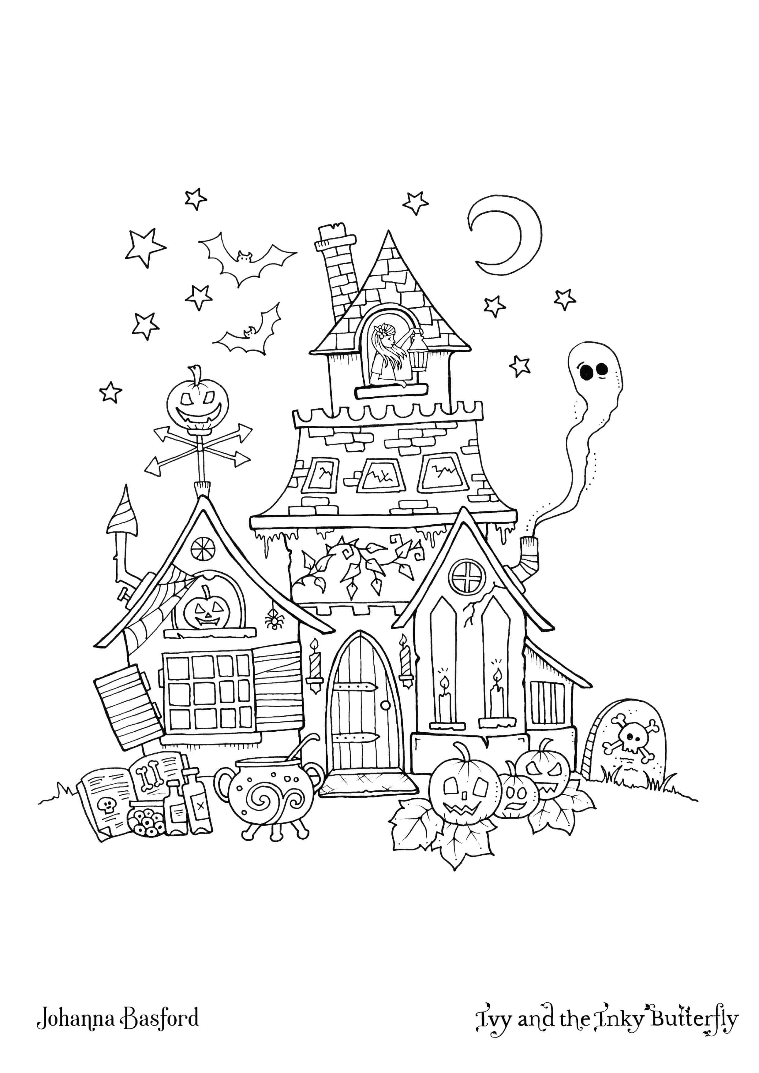 Inky Ivy Halloween Download Johanna