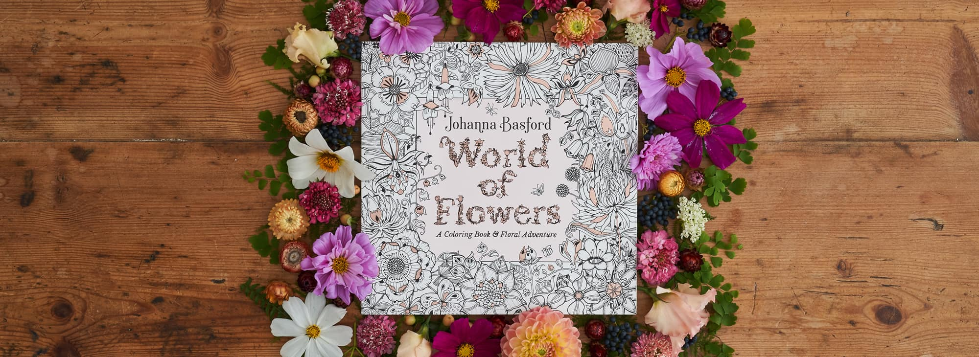 World Of Flowers Johanna Basford Johanna Basford