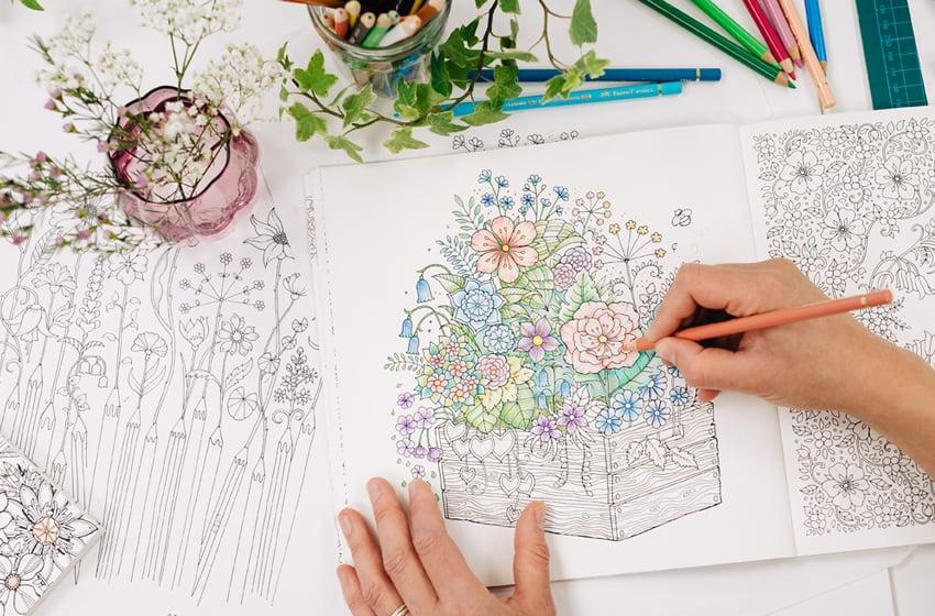 10 Core Principles Of Colouring - Johanna Basford Johanna Basford