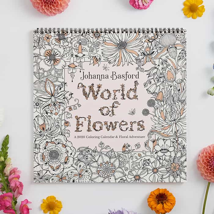 2020 World of Flowers Wall Calendar
