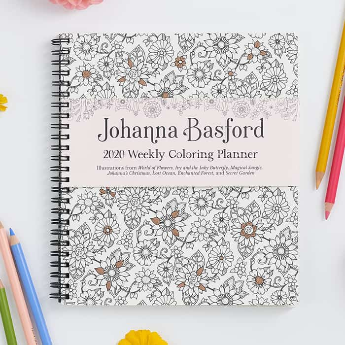 2020 Weekly Colouring Planner